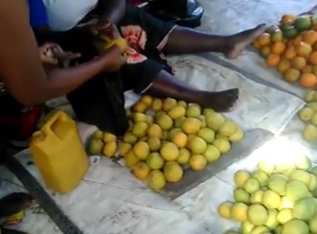 market kululeku volunteers Mozambique